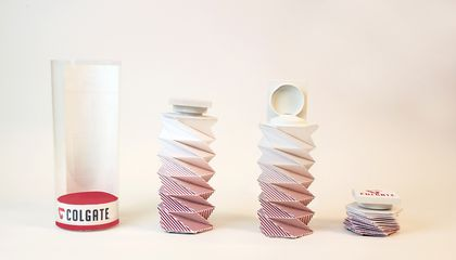 A Toothpaste Tube That Gets Every Last Bit Out