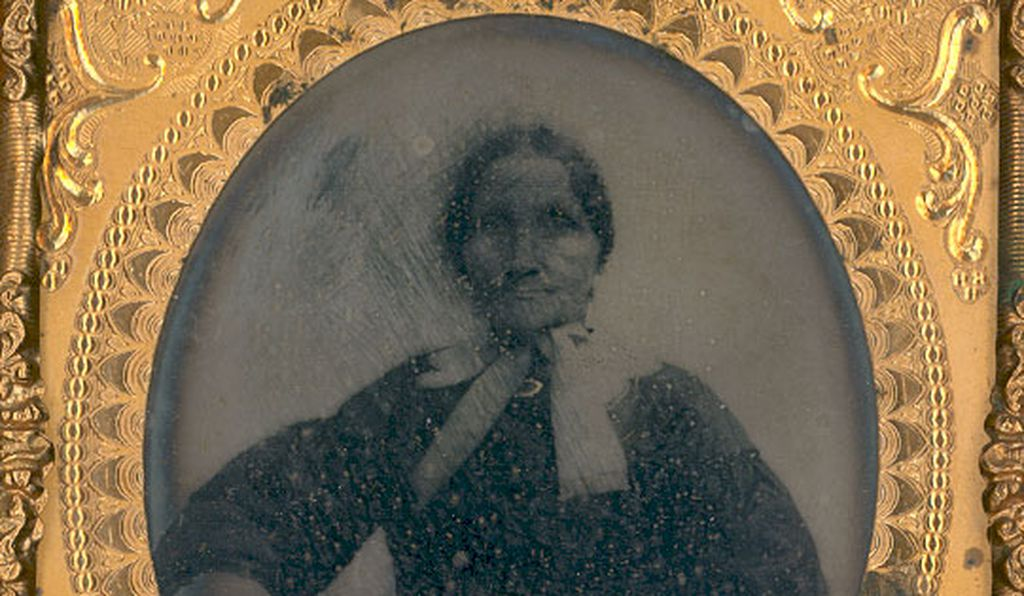 Maria Carter was the daughter of Airy Carter, a slave from Mount Vernon and George Washington Parke Custis.