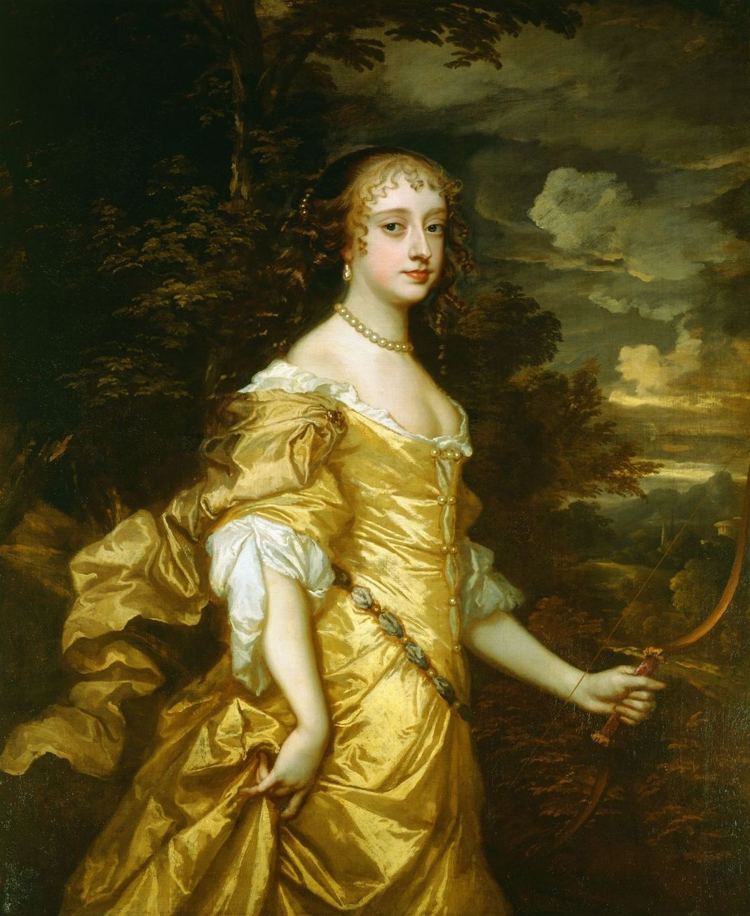 Frances Teresa Stuart by Peter Lely – Royal Collection