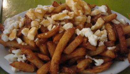 A Canadian Specialty: Poutine