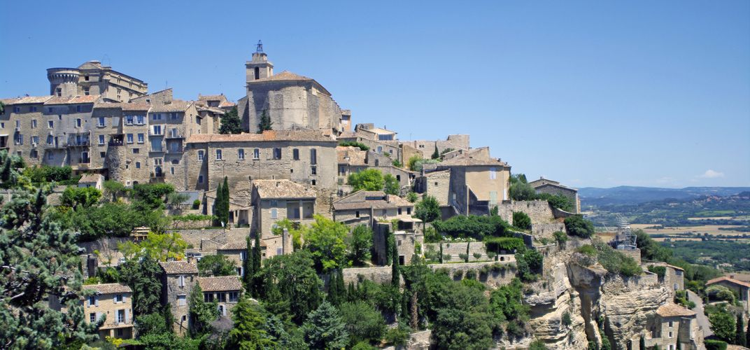 The hilltown of Gordes