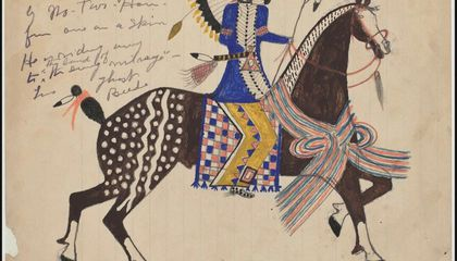 Newberry Library Digitizes Trove of Lakota Drawings