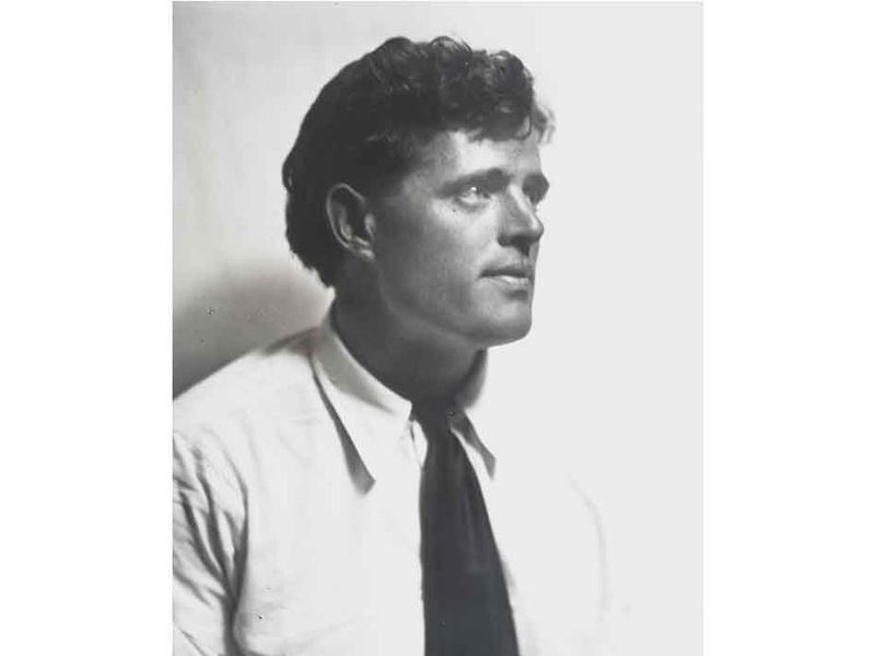 Portrait of Jack London by Arnold Genthe