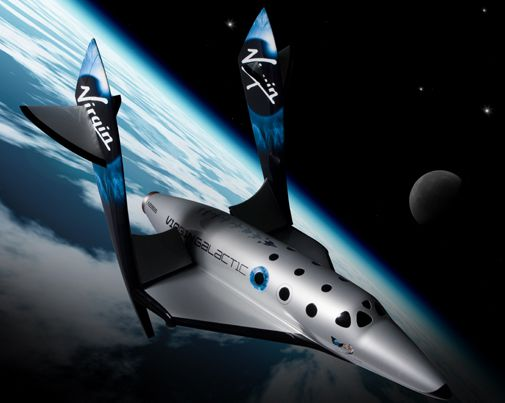 Branson and Rutan unveil their next suborbital vehicle.