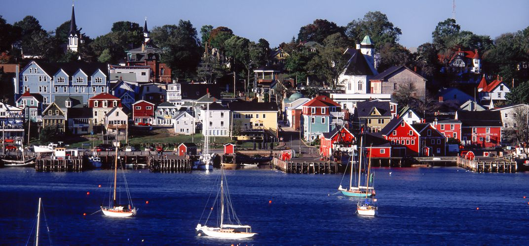 Town Of Lunenburg Nova Scotia