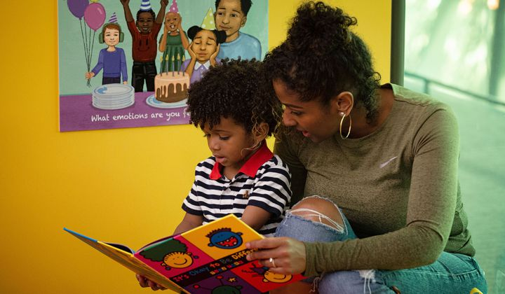 When abstract concepts, such as fairness, race and differences, are explored with picture books, spoken about during play or introduced in activities like art-making, they are accessible to children and better understood. (Jaclyn Nash, National Museum of African American History and Culture)