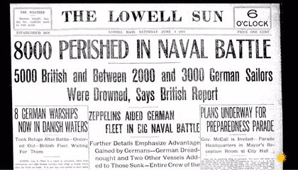 The Complex Maneuvering of WWI's Biggest Naval Battle