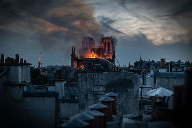 Last Night, I Watched Notre-Dame Burn