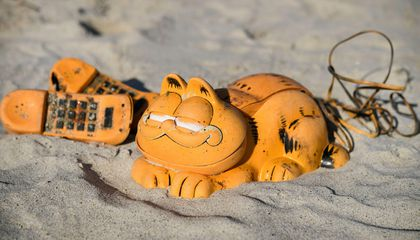 Why Have Garfield Phones Been Washing Ashore in France for 30 Years?