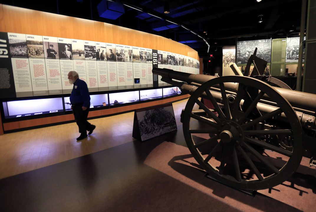Centennial of US entrance into WWI lures visitors to museum