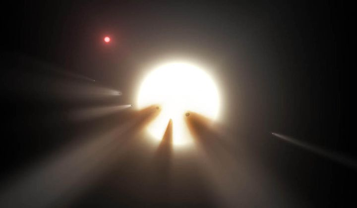 "The ""Alien Megastructure"" Star Is Acting Up Again"