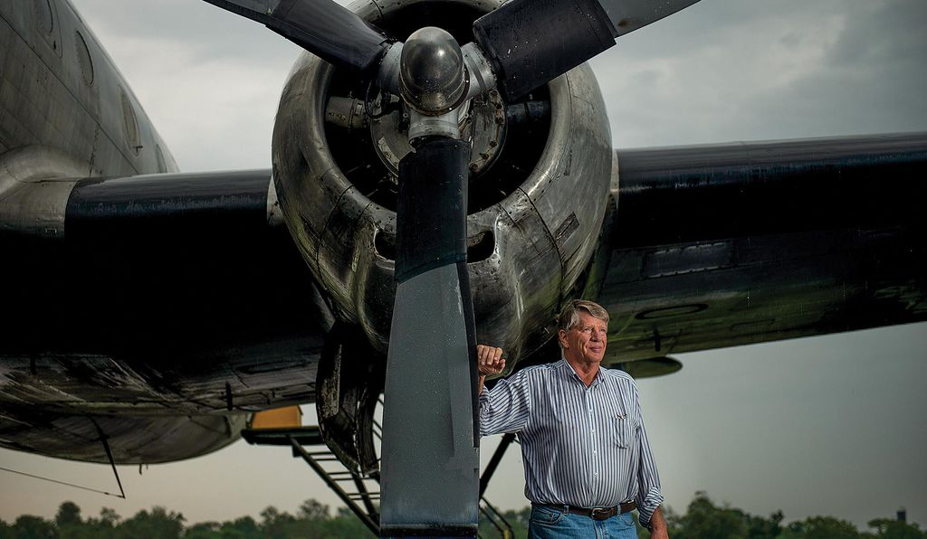 <i>Columbine II</i> has found a devoted benefactor in Karl Stoltzfus, who is funding the restoration out of a desire to preserve historic aircraft.