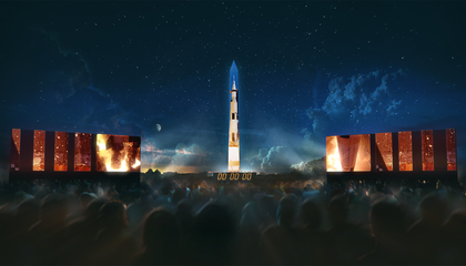 Watch the Apollo 11 Anniversary Show That Was Projected Onto the Washington Monument