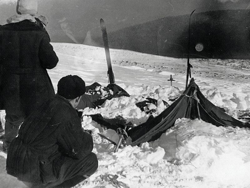 Rescuers found the abandoned tent on February 26, 1959