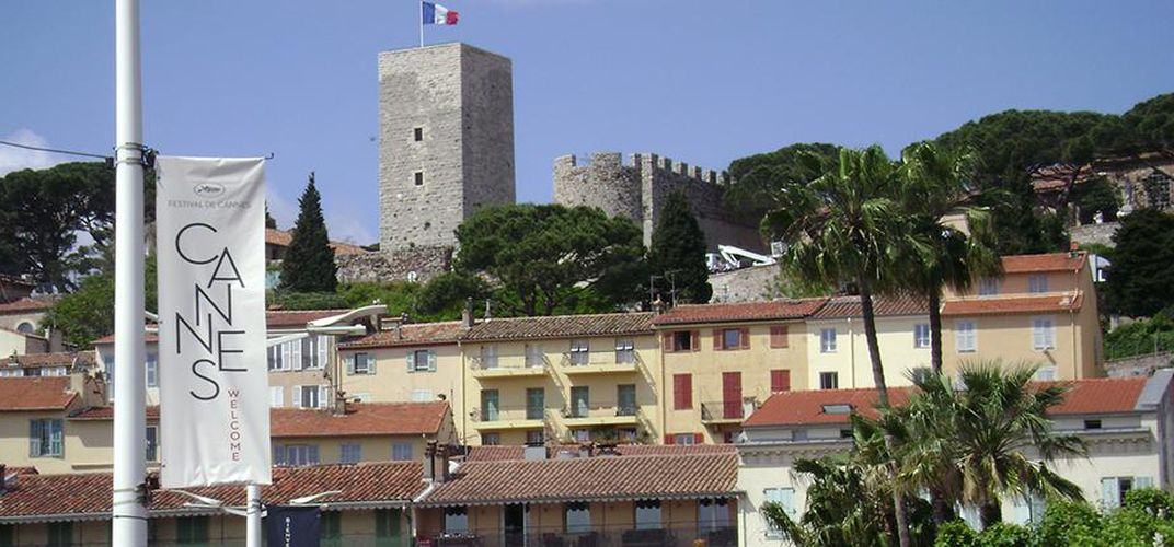 Castle in Le Suquet, the old quarter of Cannes. Credit: Lisa Pool