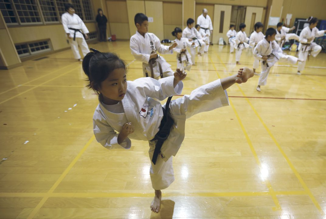 "Mahiro Takano is real life ""Karate Kid"""