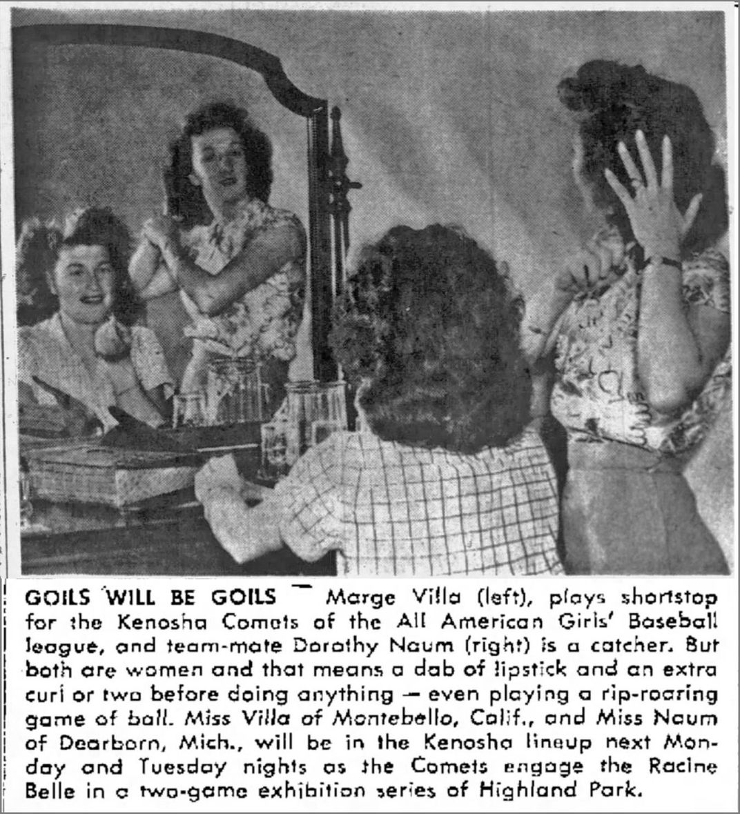 Marge Villa Newspaper Clipping