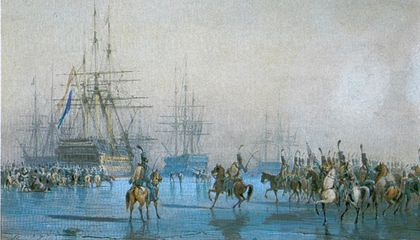 The Only Time in History When Men on Horseback Captured a Fleet of Ships