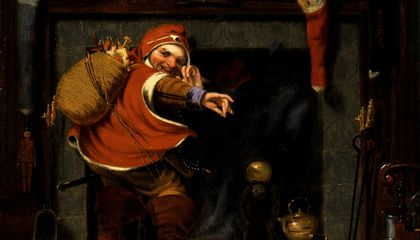 A Mischievous St. Nick from the Smithsonian American Art Museum