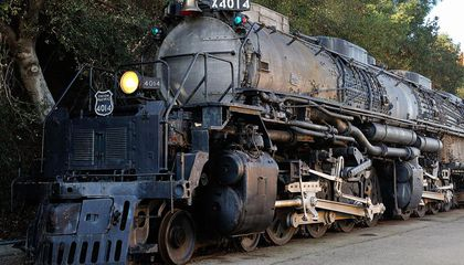 One of the Biggest Locomotives of All Time Rides Again