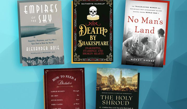 Shakespearean Stabbings and Other New Books