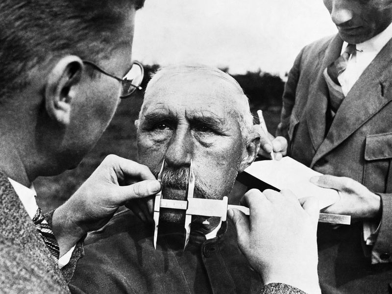 Nazi Nose Measurement