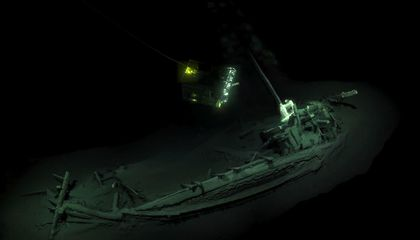 Oldest Intact Shipwreck Discovered in the Black Sea