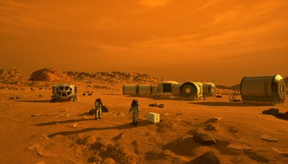 How Salt Water Could Fuel a Mars Mission