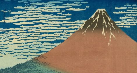 Red Fuji is one of Katsushika Hokusai's most famous prints.