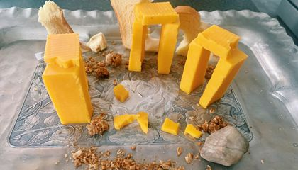 See 'Cheesehenge' and Other Historical Homages Created for Archaeology Competition