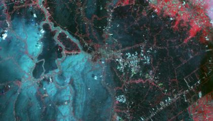Thailand's Flooding, As Seen From Space