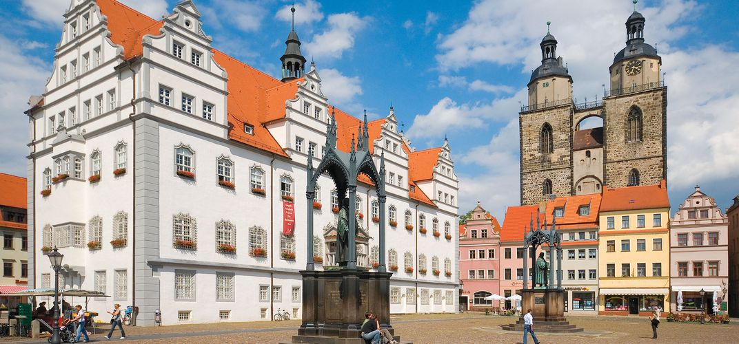 Luther Square, Wittenburg