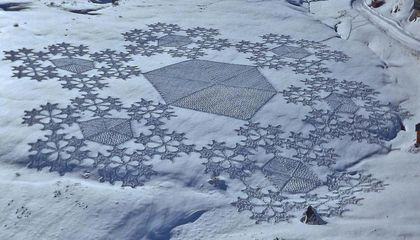 These Stunning Fractals Are Made of Snow
