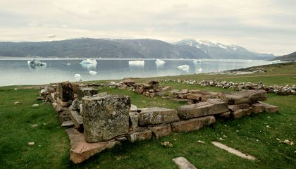 A Warming Climate Threatens Archaeological Sites in Greenland