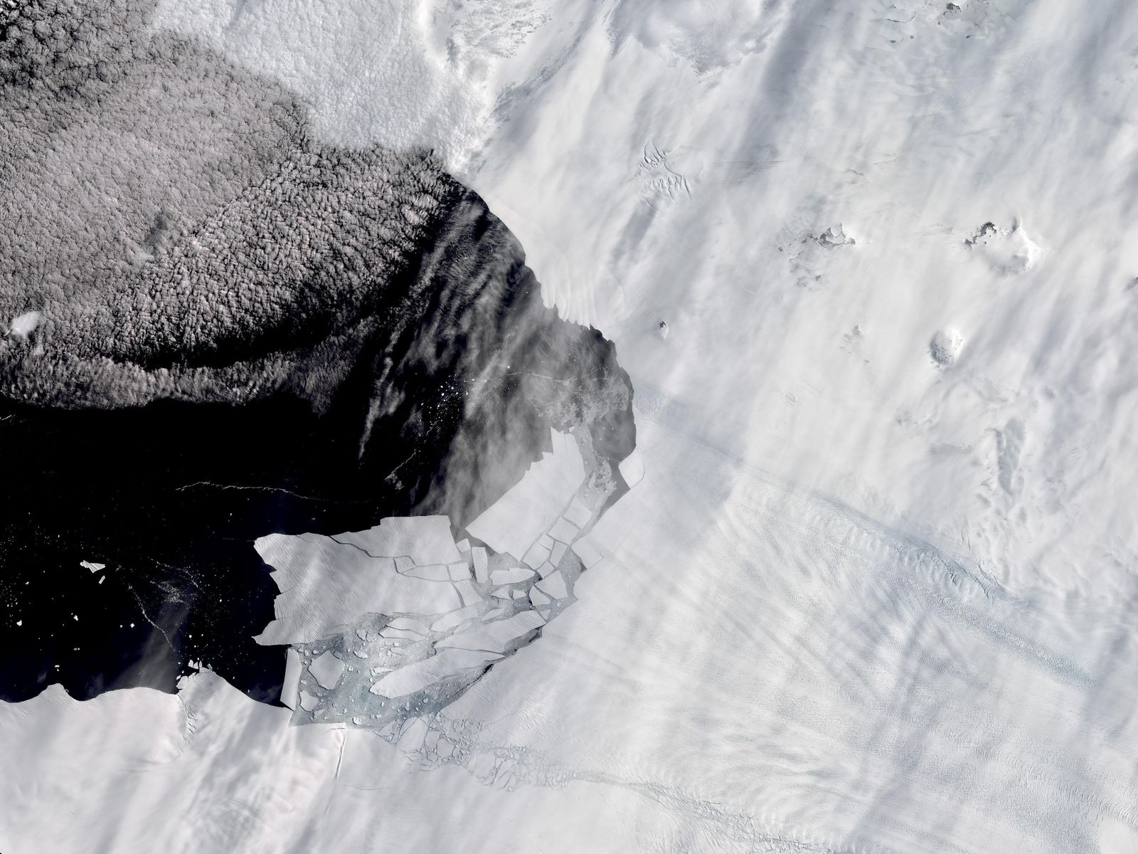 As Glaciers Melt, a New Island Popped Up in Antarctica