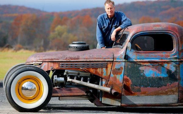 Rat rods rock as rusty rides