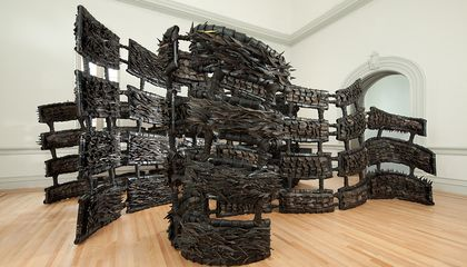 Artist Chakaia Booker Gives Tires a Powerful Retread