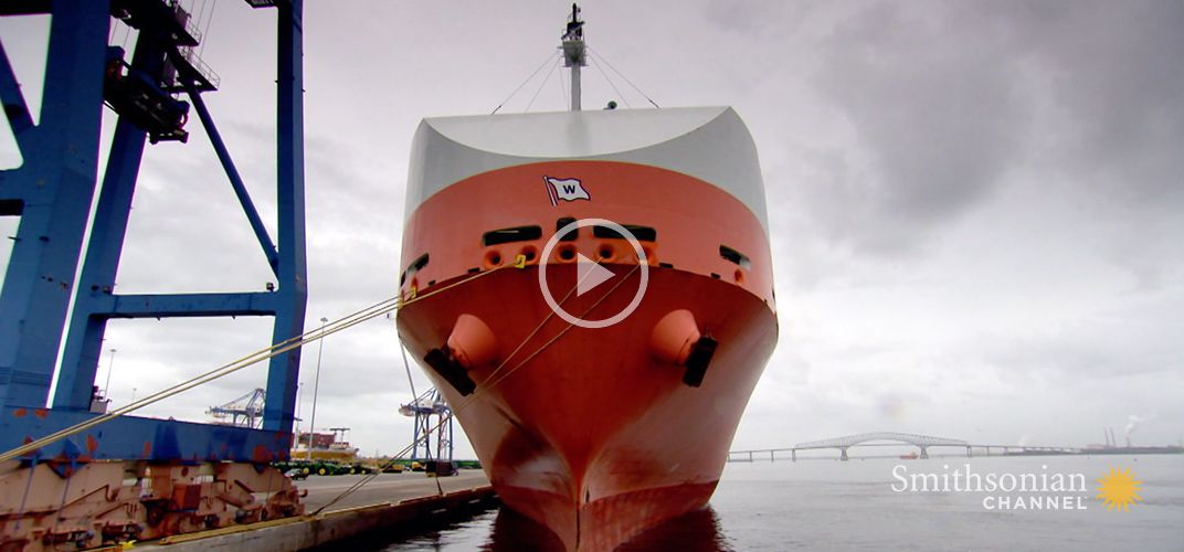 Caption: The $15,000 Robotic Cleaning That Removes a Ship's Sludge