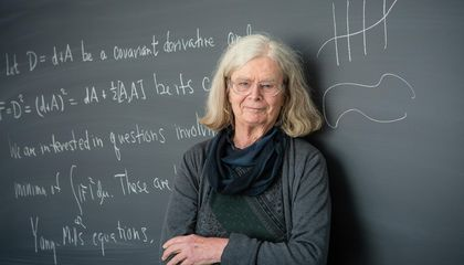 Karen Uhlenbeck Is the First Woman to Win Math's Top Prize
