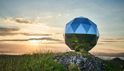 Rocket Lab Launched This Glittery Sphere Into Orbit