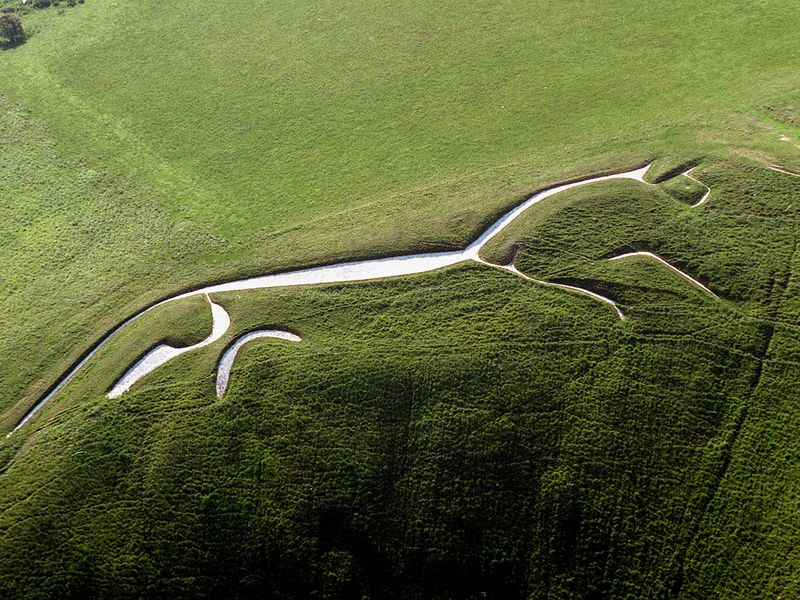 The White Horse at Uffington, Oxfordshire
