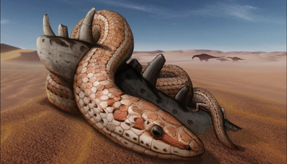 New Fossils Unlock Evolutionary Secrets of Two-Legged Snakes