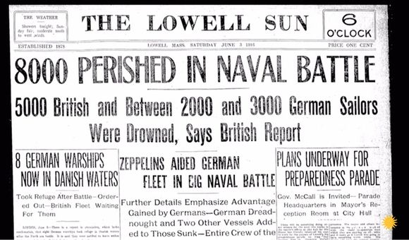 Preview thumbnail for video'The Complex Maneuvering of WWI's Biggest Naval Battle
