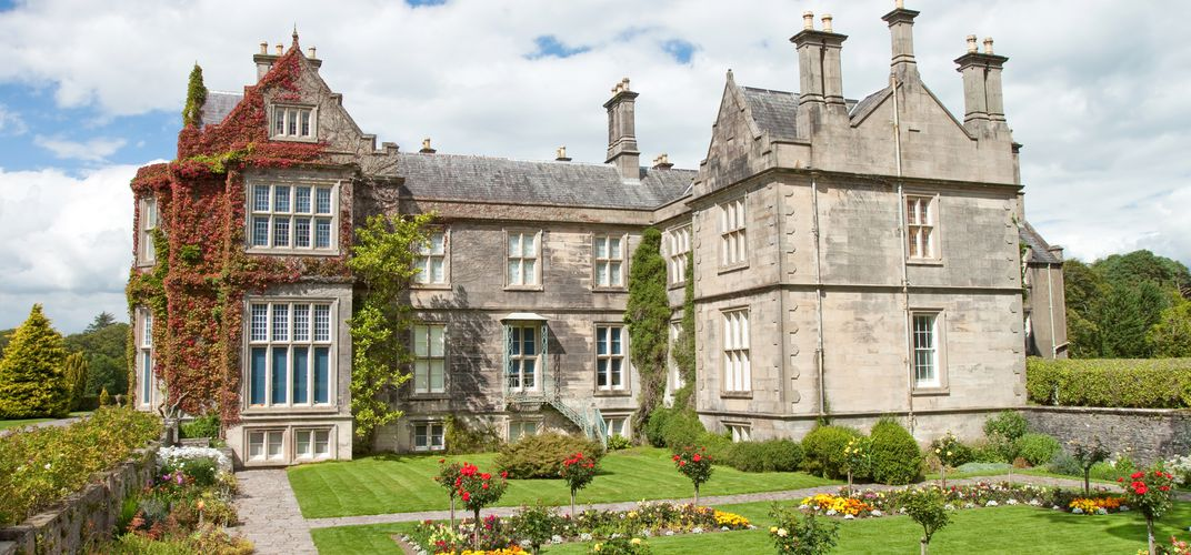 The 19th-century Elizabethan-style Muckross House, outside Killarney