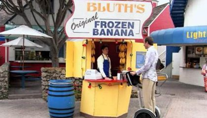 The Bluth Family Original Frozen Banana