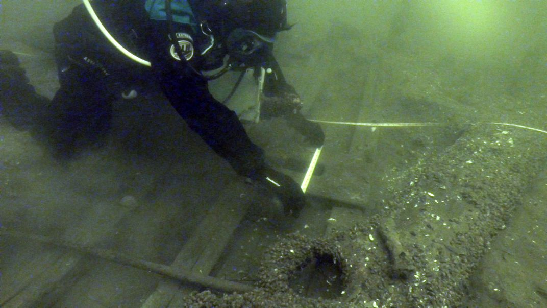 Shipwreck Identified as Rare Canal Boat