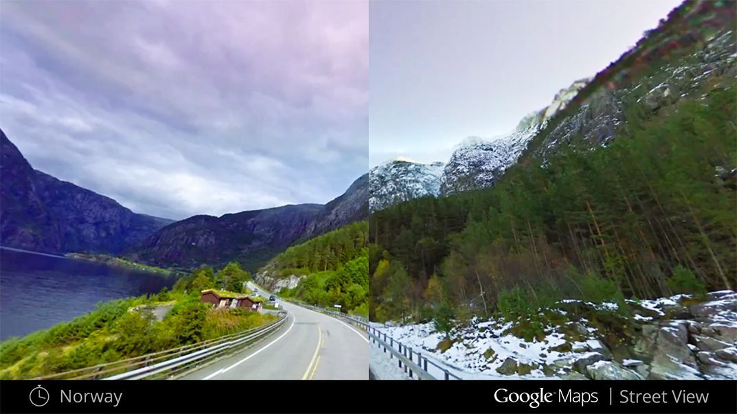 With Google Maps, It's Now Possible To Travel Through Time ... on