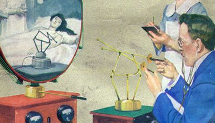 Telemedicine Predicted in 1925