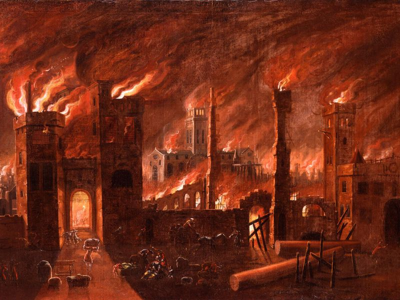 Act Scores Paint Troubling Picture For >> The Great Fire Of London Was Blamed On Religious Terrorism History