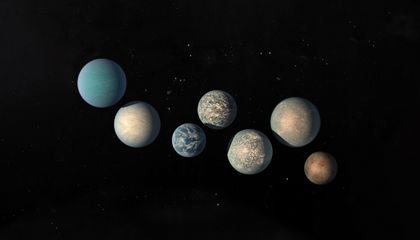 image of 7 planets